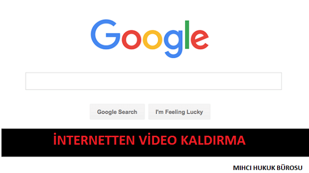 İnternetten Video Kaldırma, Sildirme