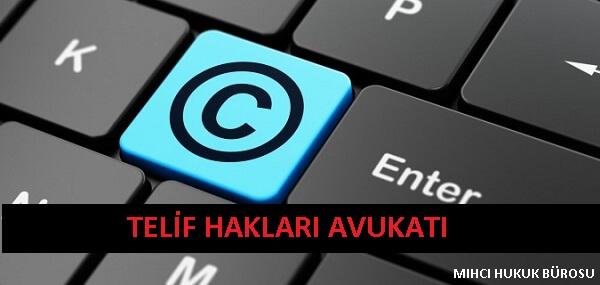 telif hakları avukatı