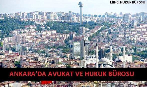 Ankara'da Avukat ve Hukuk Bürosu