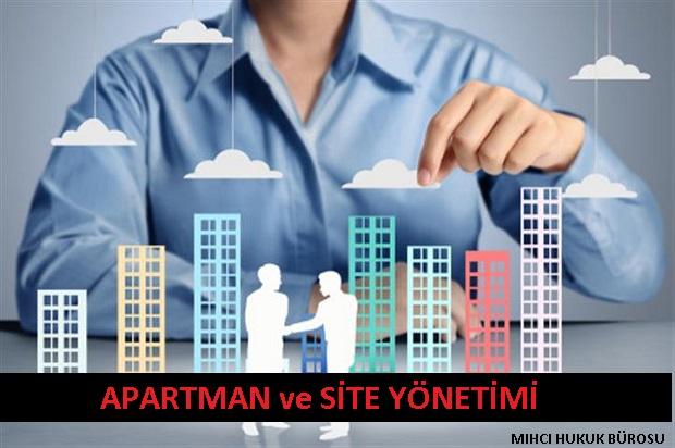 Apartman ve Site Yönetiminde Hukuki Danışmanlık ve Avukatlık